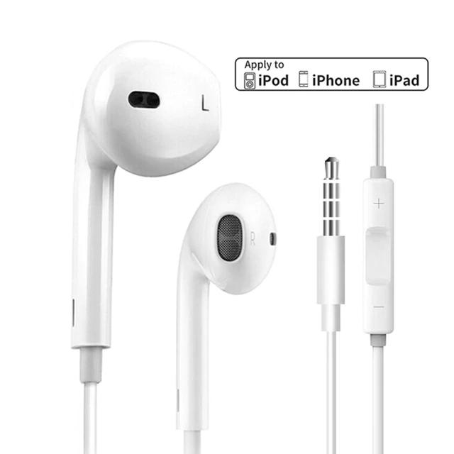 Auriculares OEM (Original) iPhone iPad iPod (plug standar)